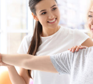 prescription medication and physical therapy